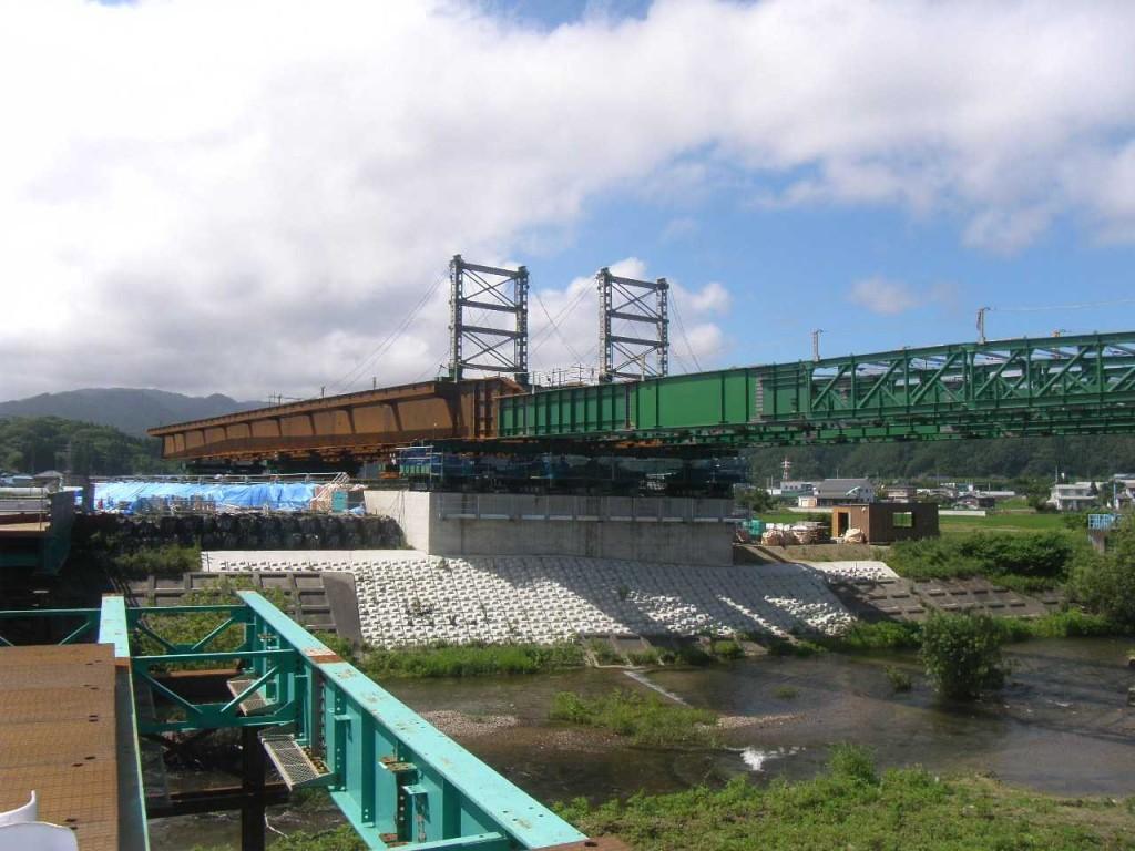 【優良県営建設工事表彰】        長沢川橋