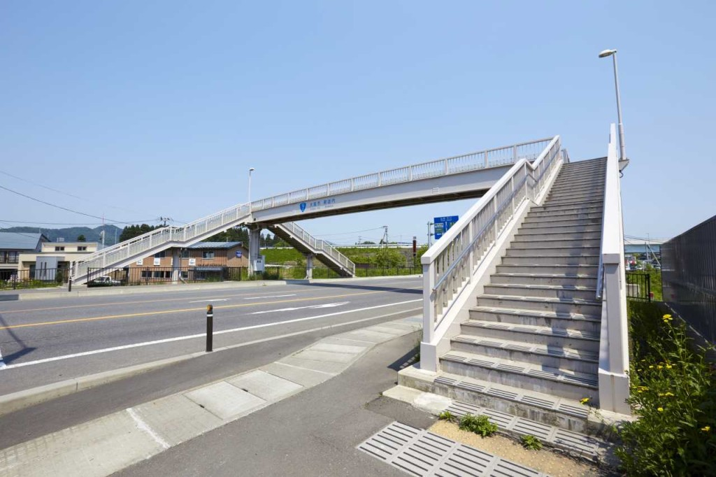 獅子ケ森歩道橋