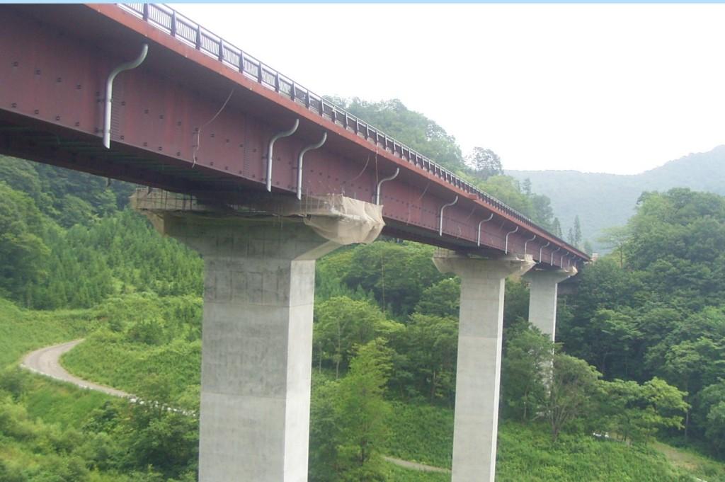 胆沢ダム付替国道3工区橋梁補修工事