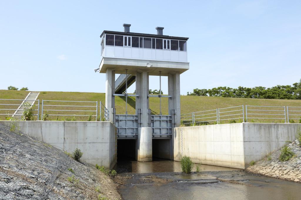 古川排水樋門