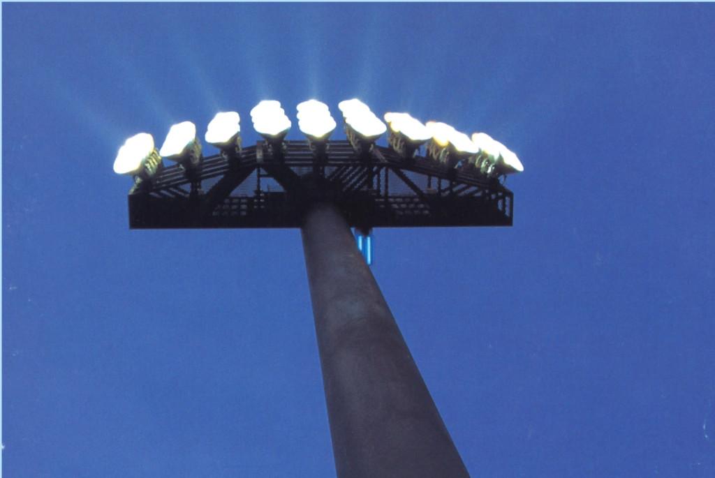 花巻球場照明鉄塔