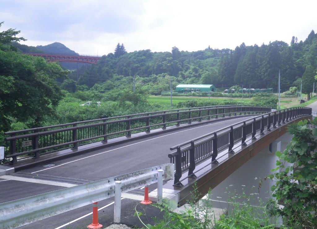 白沢熊ヶ根線野川橋橋梁上部工補修工事