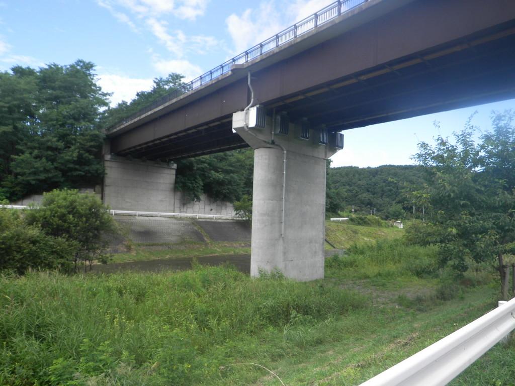 一般国道395号日ノ戸橋橋梁補強工事