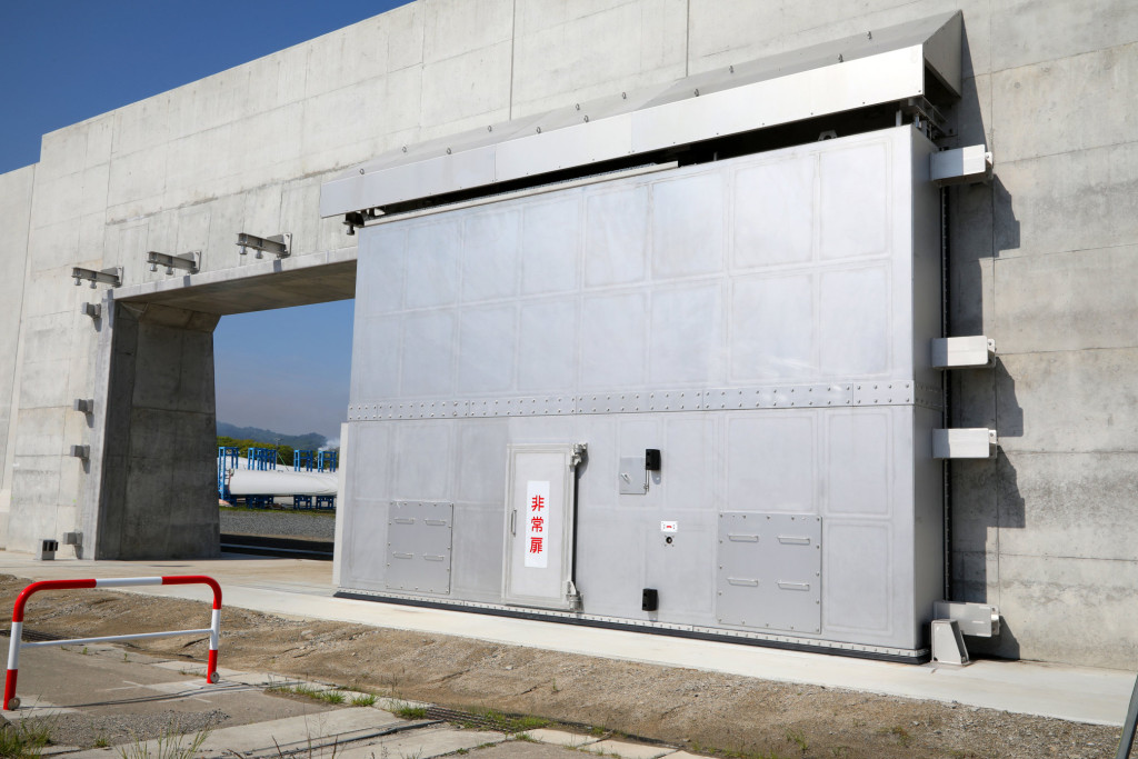 宮古港海岸藤原地区陸閘設備その2工事(6号陸閘)