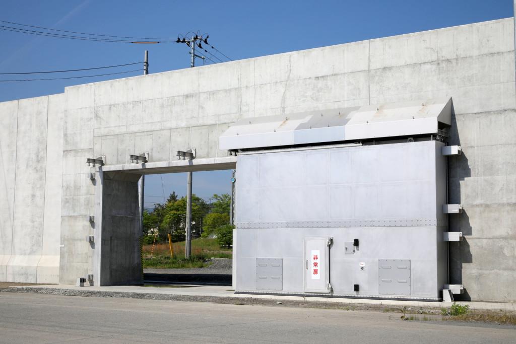 宮古港海岸藤原地区陸閘設備その2工事(3号陸閘)