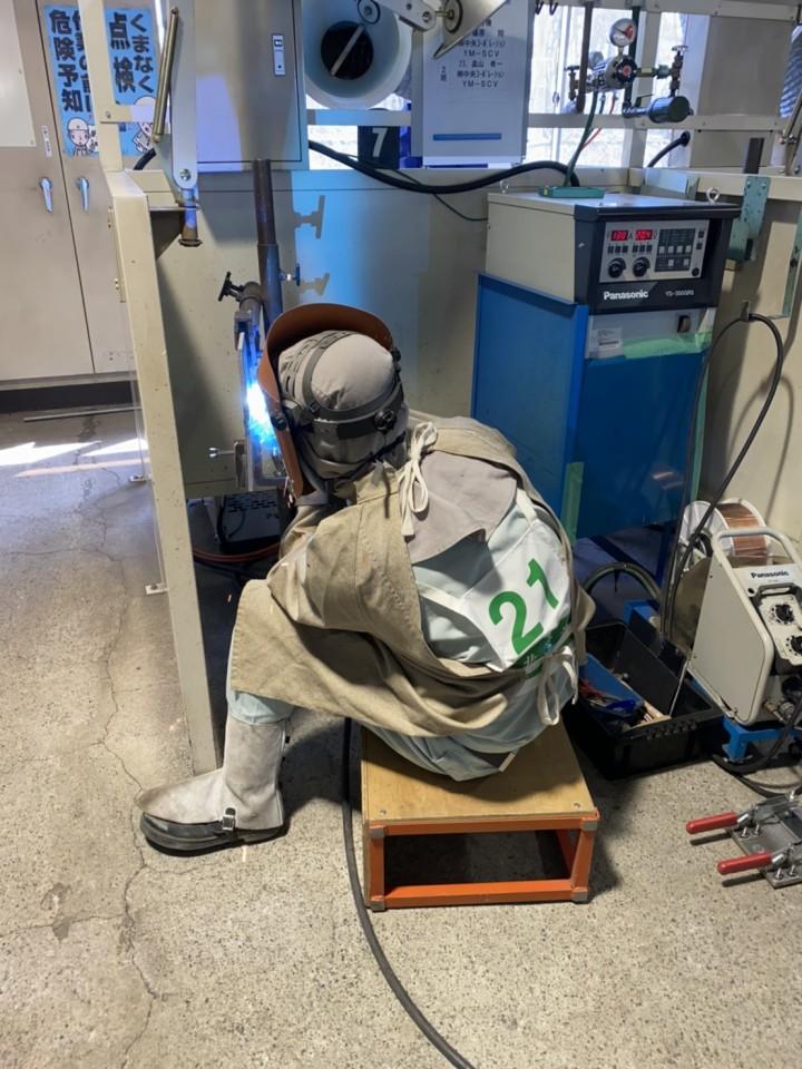 20200307岩手県溶接技術競技会選抜大会4