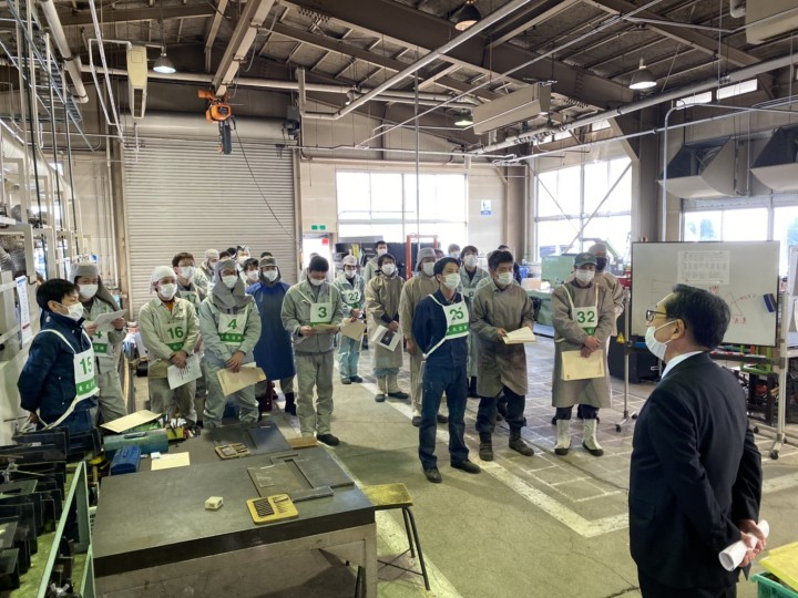 20200307岩手県溶接技術競技会選抜大会1
