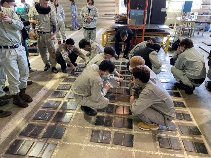 20200307岩手県溶接技術競技会選抜大会5