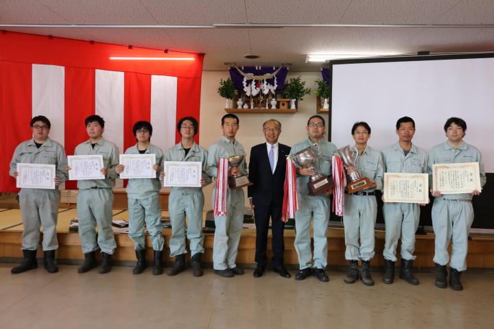 20210525溶接技術競技会表彰式1
