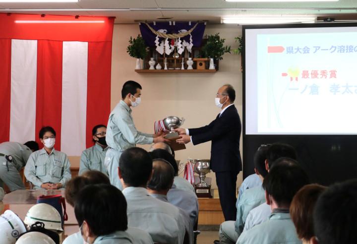 20210525溶接技術競技会表彰式4