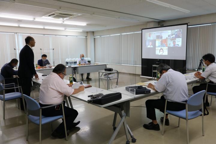 20210909岩手県鉄構工業協同組合理事会2