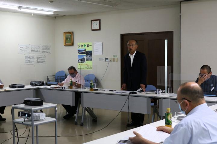 20210909岩手県鉄構工業協同組合理事会3