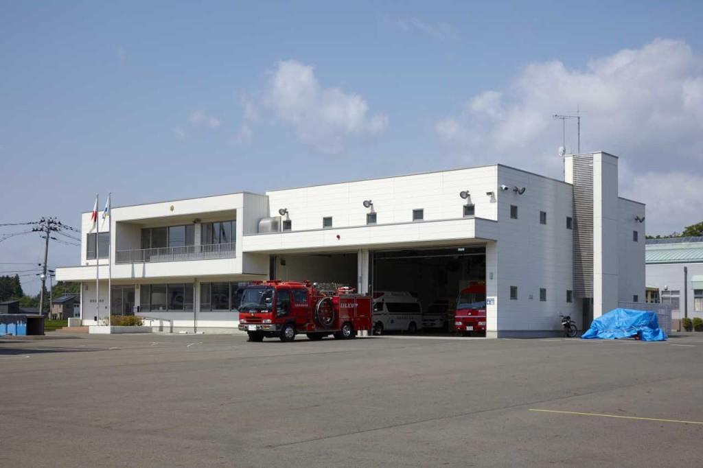 石鳥谷消防分庁舎
