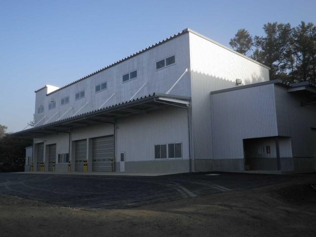 西部開発農産 乾燥調整施設新築工事