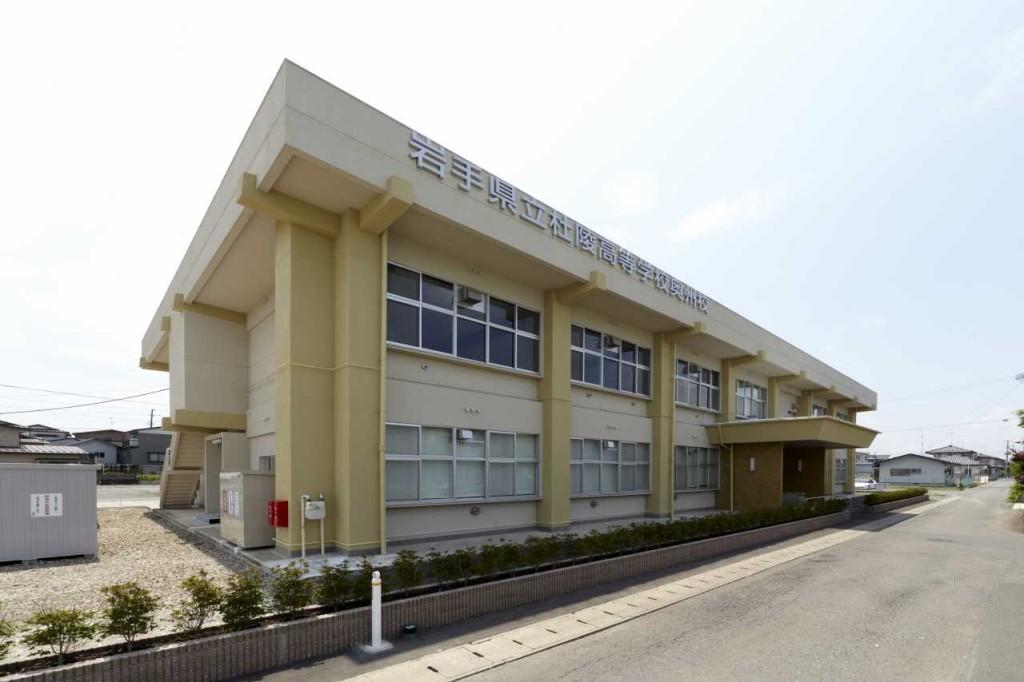 杜陵高等学校 校舎大規模改造