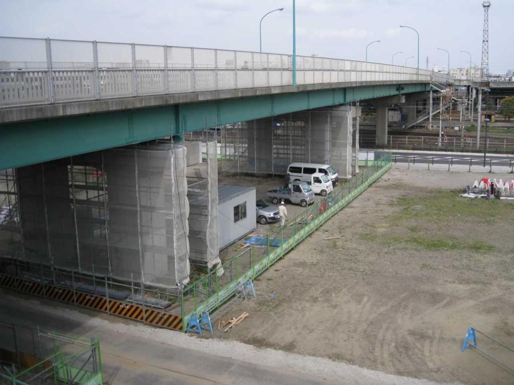 鹿島田こ線歩道橋