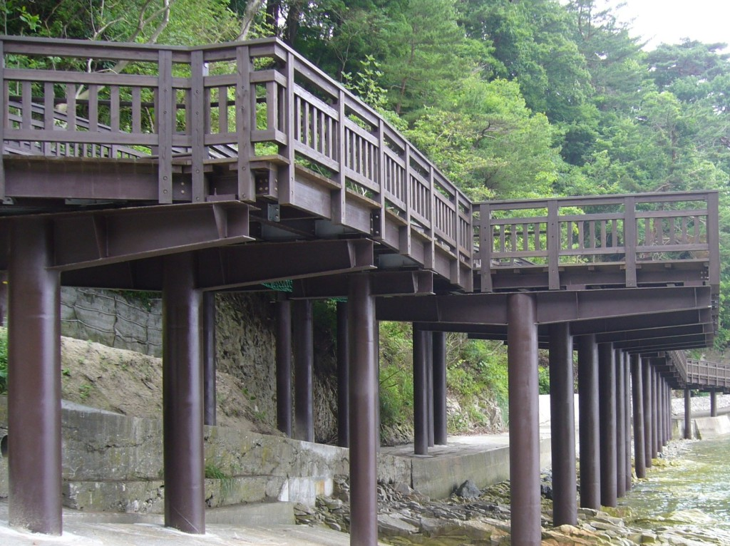 浄土ケ浜遊歩道(SIC工法)