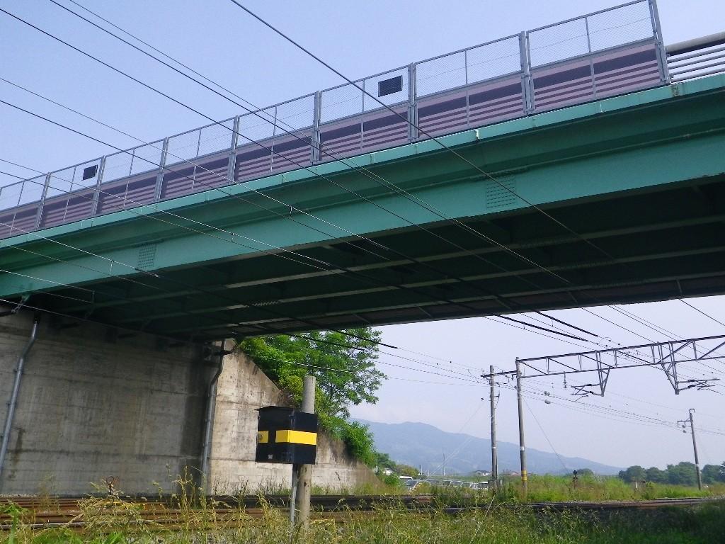生母跨線橋補修工事