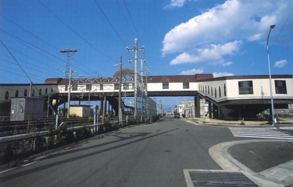東青森駅構内自由通路
