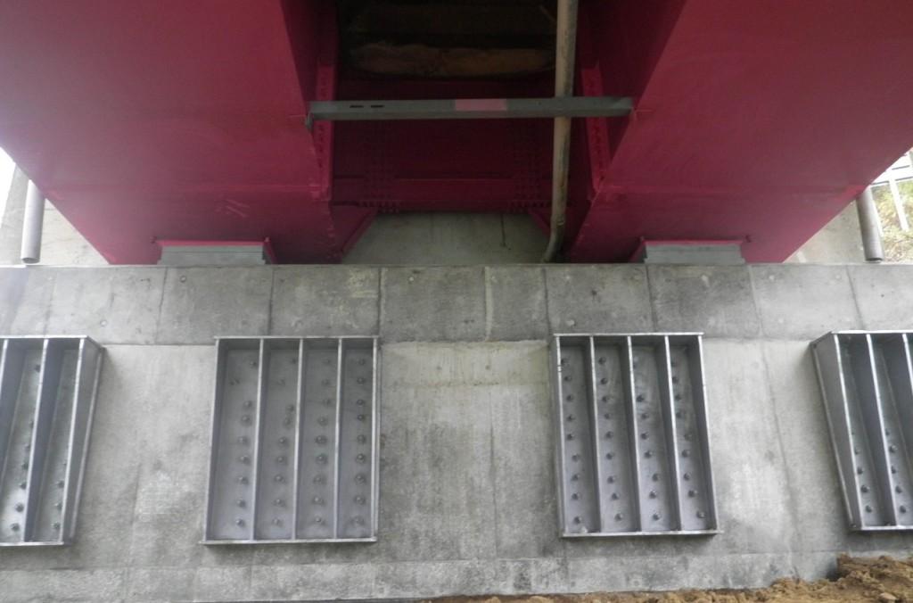 夏油大橋橋梁補修工事