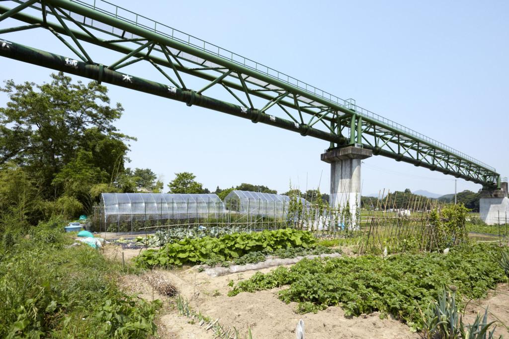 古内水管橋