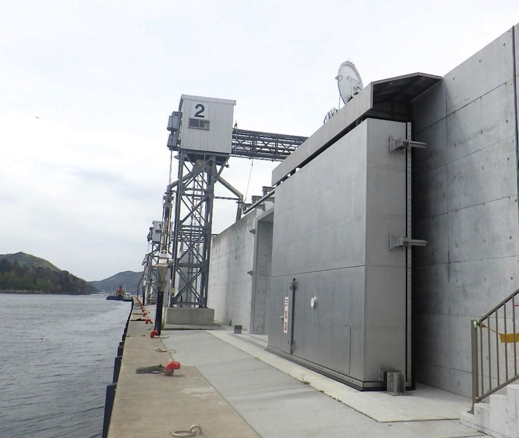大船渡漁港海岸災害復旧(23災県第520号機械設備)工事(12号陸閘)