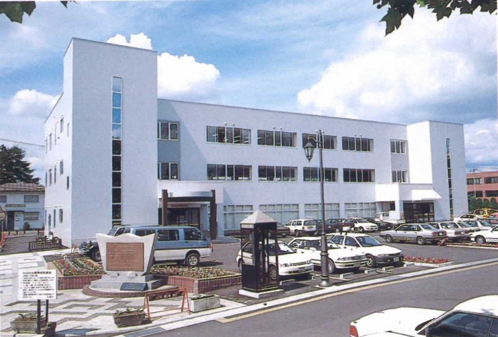 花巻市役所第二庁舎鉄骨工事