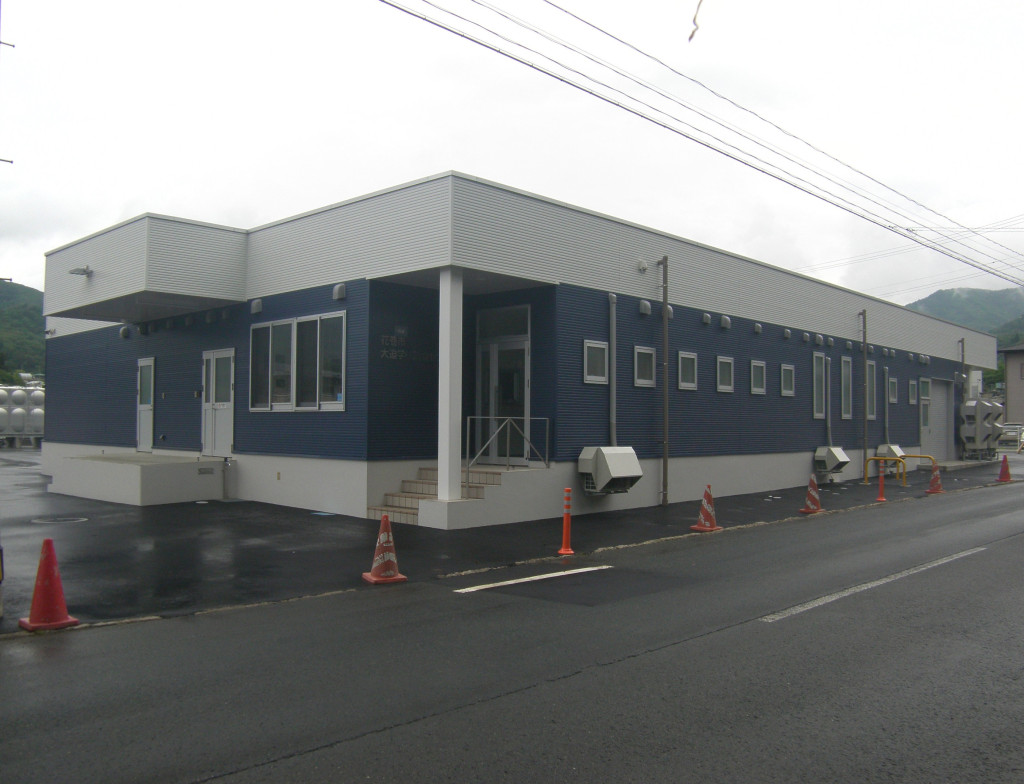 大迫学校給食センター(建築)工事