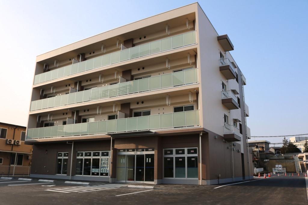 災害公営住宅(花巻中央地区上町)新築(建築)工事